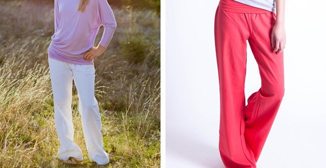 Fold Over Linen Pants – 7 Fantastic Colors