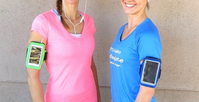Blowout! Exercise Arm Band- Perfect for Spring and Summer Adventures!