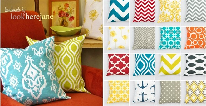 Pillow Covers-Over 100 Fabrics!