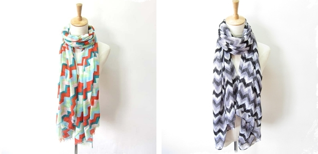 Chevron Scarf- 6 Color Options!