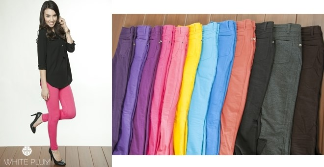 Classic Jeggings! 12 Color Options!