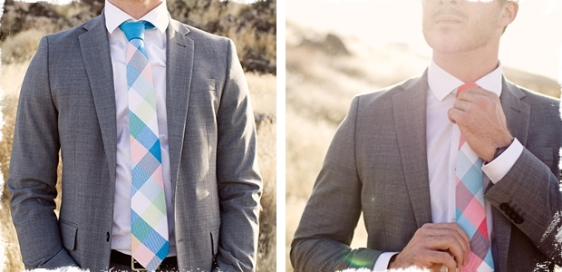 MOSAIC Plaid Neckties - 13 Colors!