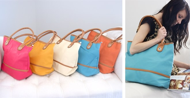 It's Back!! Large Summer Tote!! Perfect For The Pool Or Travel!