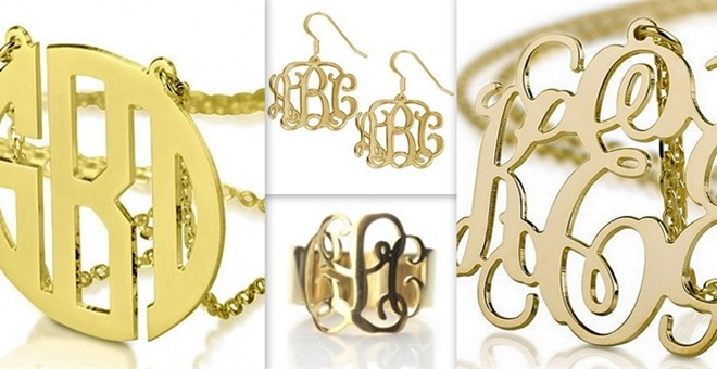 Monogram Necklaces (2 Styles)