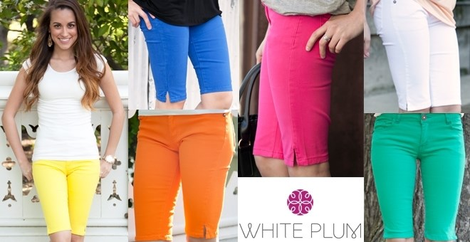 Essential Bermuda Shorts! 5 Colors Available!