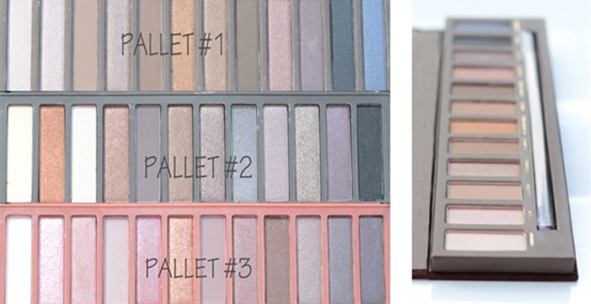 Designer Inspired Eye Shadow Pallet