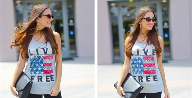 Live Free Graphic Tank Tops-3 colors