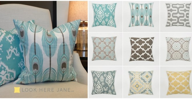 Pillow Covers-Gorgeous Fabric Choices!