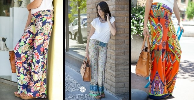White Plum's Palazzo Pants!  30 Styles Available