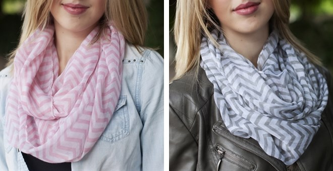 Chevron Scarves - 7 Colors