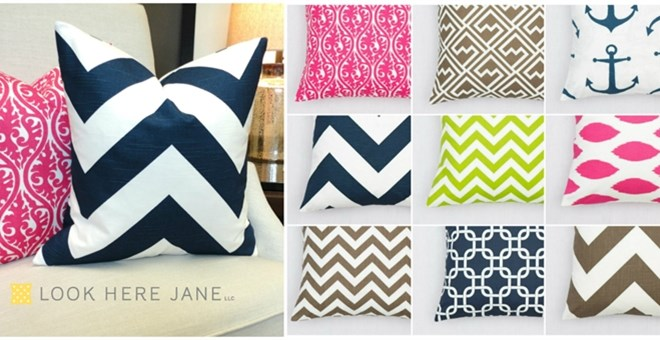 Pillow Covers-Make Your Space Pretty!