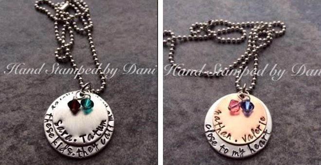 BACK BY POPULAR DEMAND FOR MOTHERS DAY! MOMMY AND GRANDMAS PERSONALIZED NECKLACE