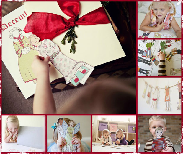 Print-It-Yourself Custom Paper Doll Package & 1 Year Membership to Outfit of the Month Club