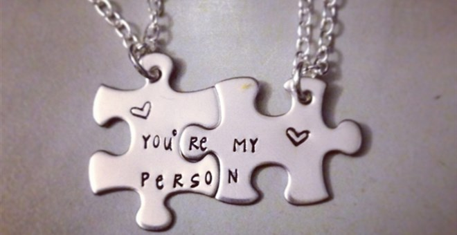 $19.99 · You`re My Person Best Friends Necklace Set
