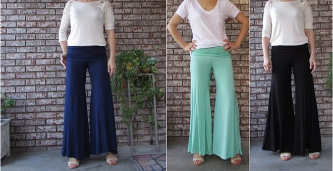 Made in the USA  palazzo pants Small to XLarge