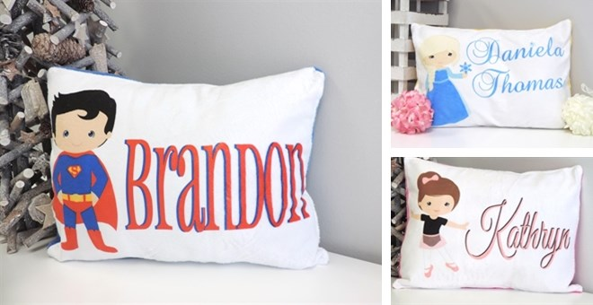 $16.49 Custom Minky Pillow, FR...
