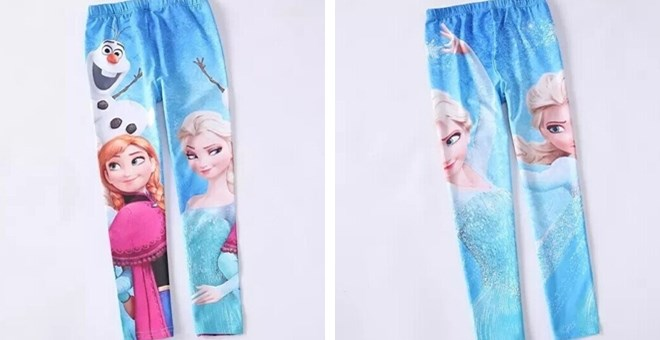 Let It go Frozen Themed Leggin...
