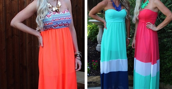 Perfect Summer Maxi Dresses