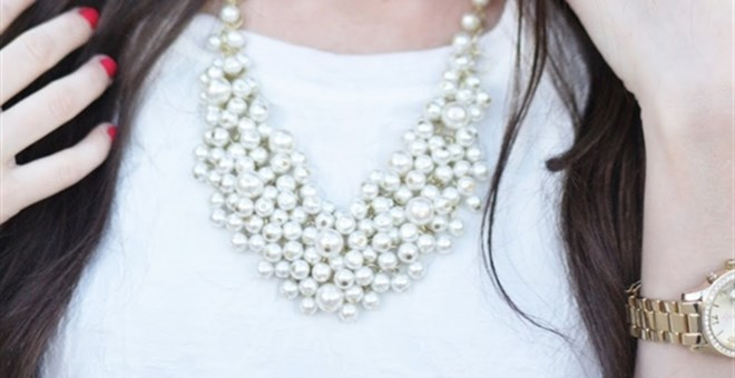 Pearl Cluster Necklaces