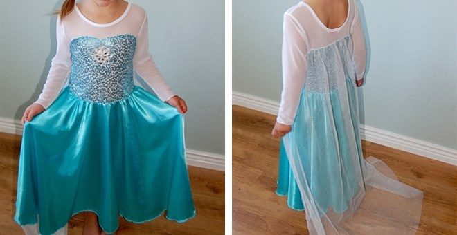 $22.99 Frozen Elsa Inspired Dr...