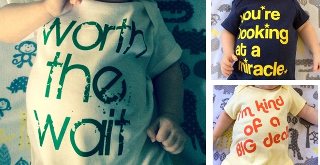 Adorable Baby Slogan Bodysuits
