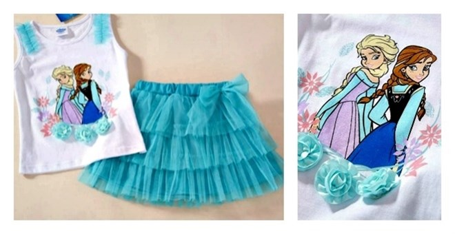 Frozen Character Inspired Tutu...
