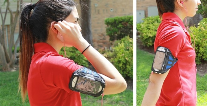 Sporty Indoor/Outdoor Armband for Samsung/iPhone