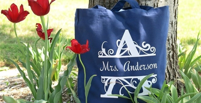Teacher Tote Bags – Back -To- School Gifts for Teachers