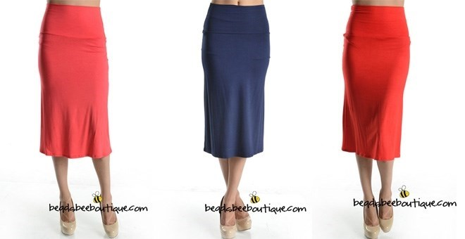 High Waisted Skirts are BACK - Small to XL