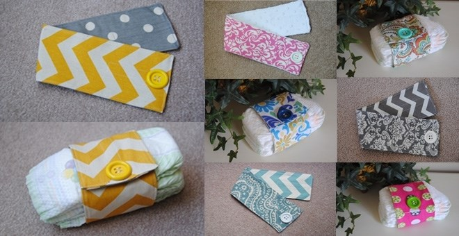 Trendy  Diaper Wraps- Great  Diaper Bag Organizer - Many Styles Available