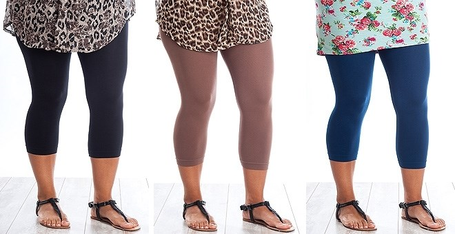 Curvy Capri Leggings - New colors