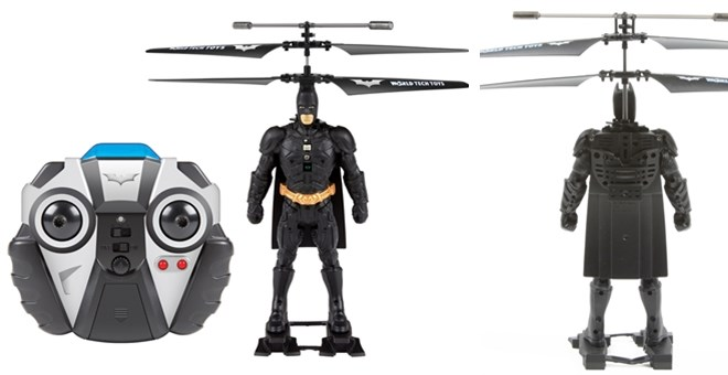DC Comics Licensed World Tech Toys Batman 2CH IR RC Helicopter