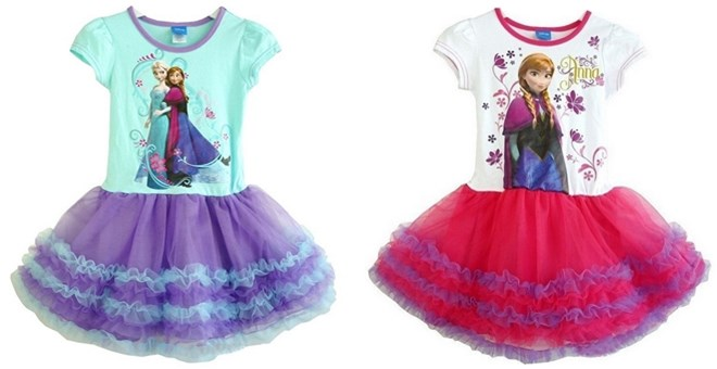 Frozen Elsa/Anna Princess Mesh Tutu Summer Dress