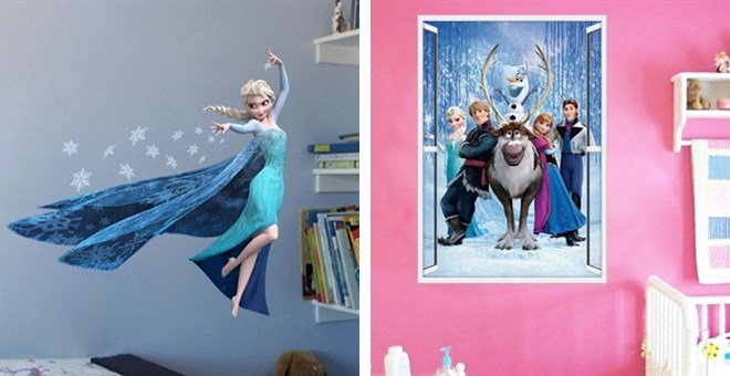 $14.99 Giant Frozen Wall Decal...