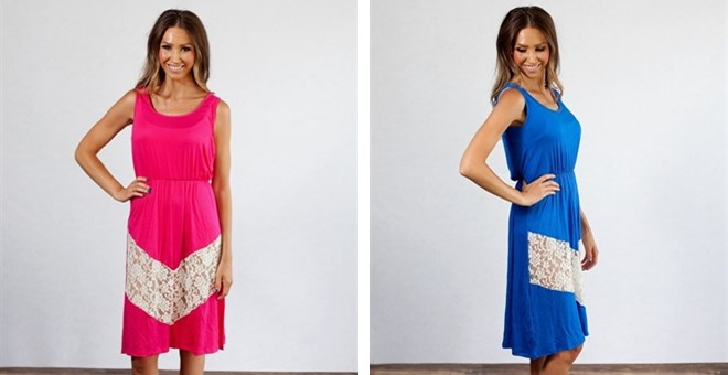 Layla Lace Summer Dress Blowout!