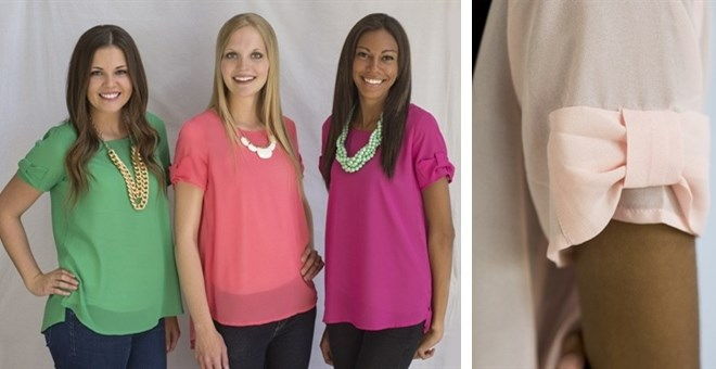 The Lucy Top ~ 9 Colors!