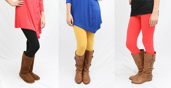 Perfect Fleece Leggings - Regular & Curvy Sizes!