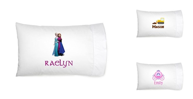 Cute Kids Personalized Pillow Cases