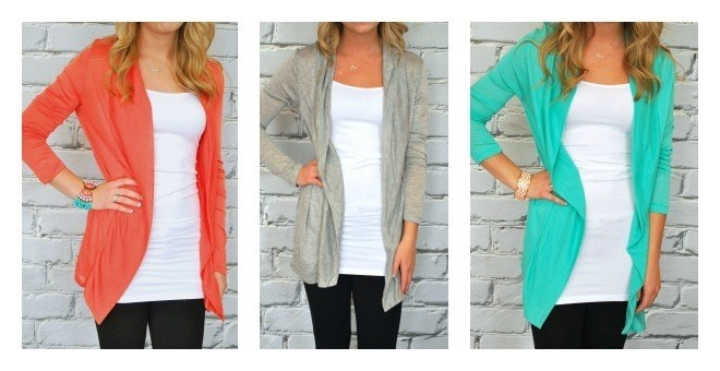 Lightweight Long Cardigans - New Fall Colors - 8 Colors