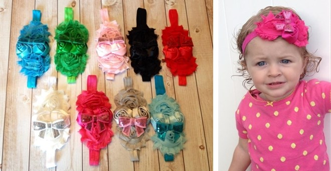 Adorable Headbands, 9 Color Options - Buy One, Get One FREE