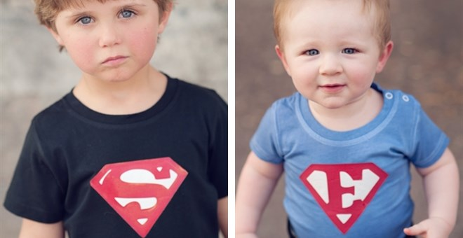 CUSTOM Super Hero Onesies & Shirts