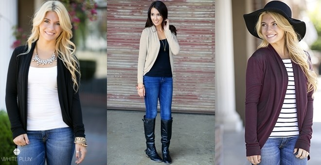 Draped Cardigan Just $12.98 Shipped!