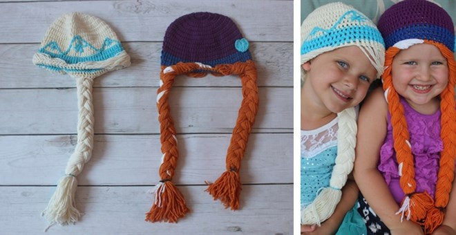 Princess Inspired Crochet Hats - 2 styles!