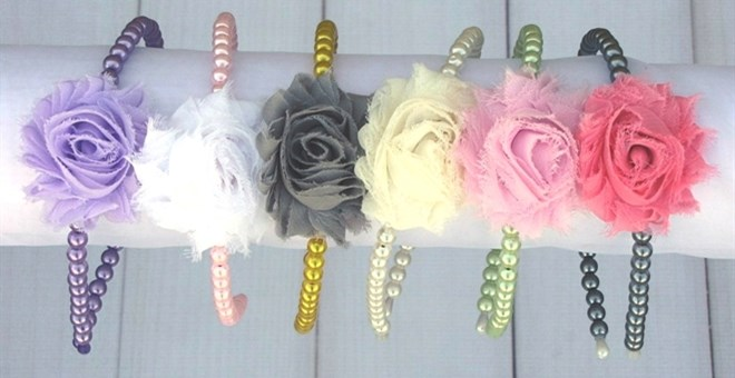 Customize Your Own Pearl Headbands!
