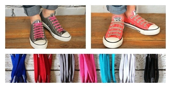 No Tie Shoelaces - Set of 3