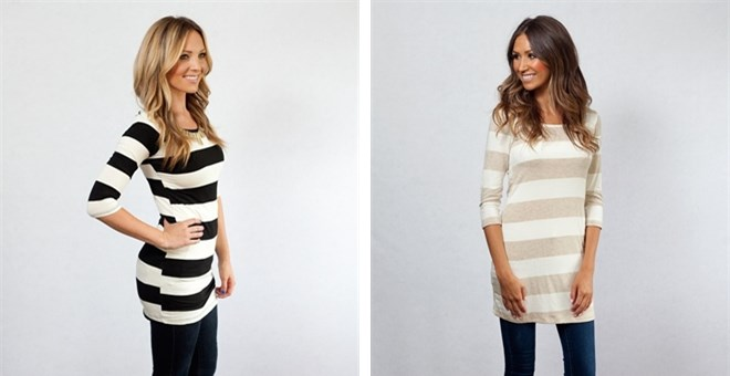 Perfect Striped Tunic!