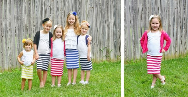 Little Girl's Pencil Skirts