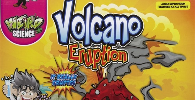Grafix Weird Science Volcano Eruption Kit