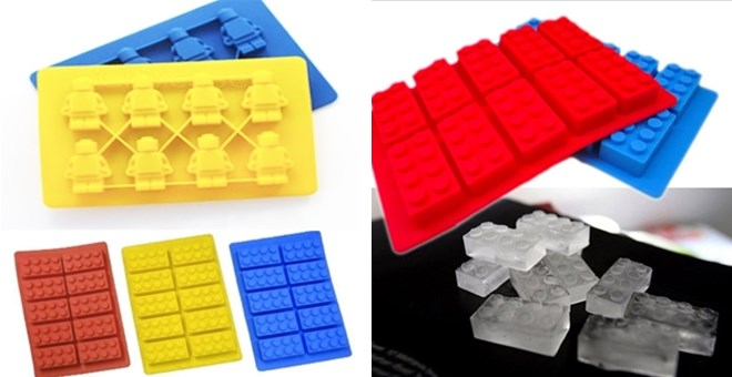 Lego •Ice •Chocolate and •Jello Molds