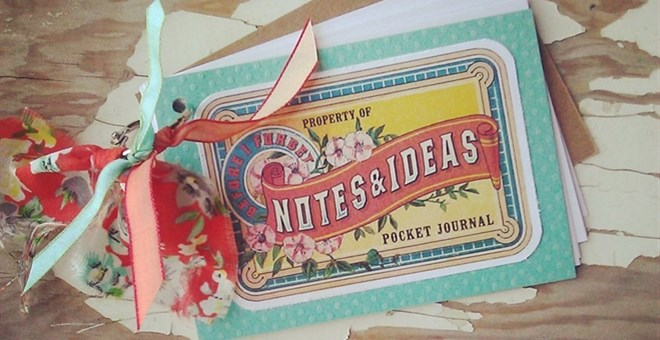 Notes & Ideas Mini Notebook Journal